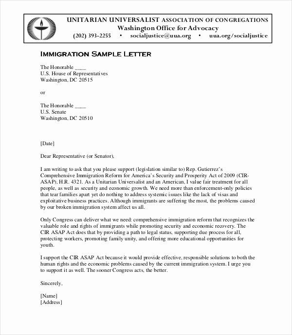 Letter Of Recommendation for Immigration Lovely Witness Letter for Marriage Sample