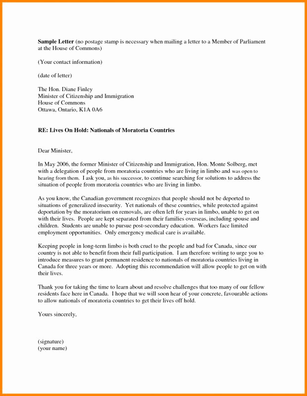 Letter Of Recommendation for Immigration Luxury Letter Re Mendation for Immigration