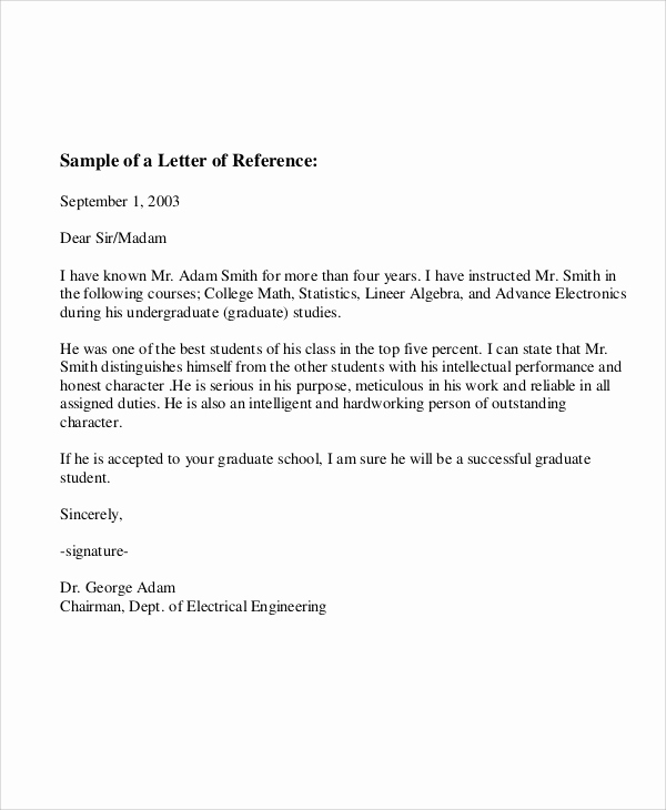 Letter Of Recommendation From Employer Beautiful 6 Sample Employee Re Mendation Letter Free Sample