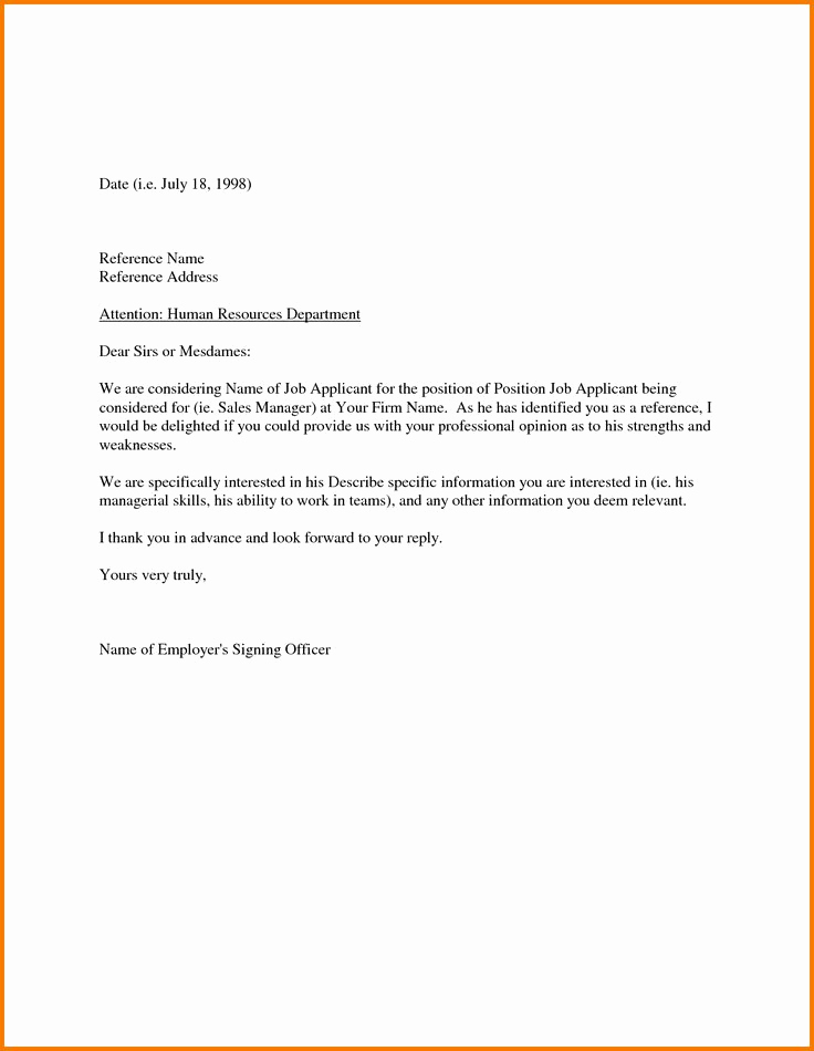 Letter Of Recommendation From Employer Best Of Best 25 Employee Re Mendation Letter Ideas On Pinterest