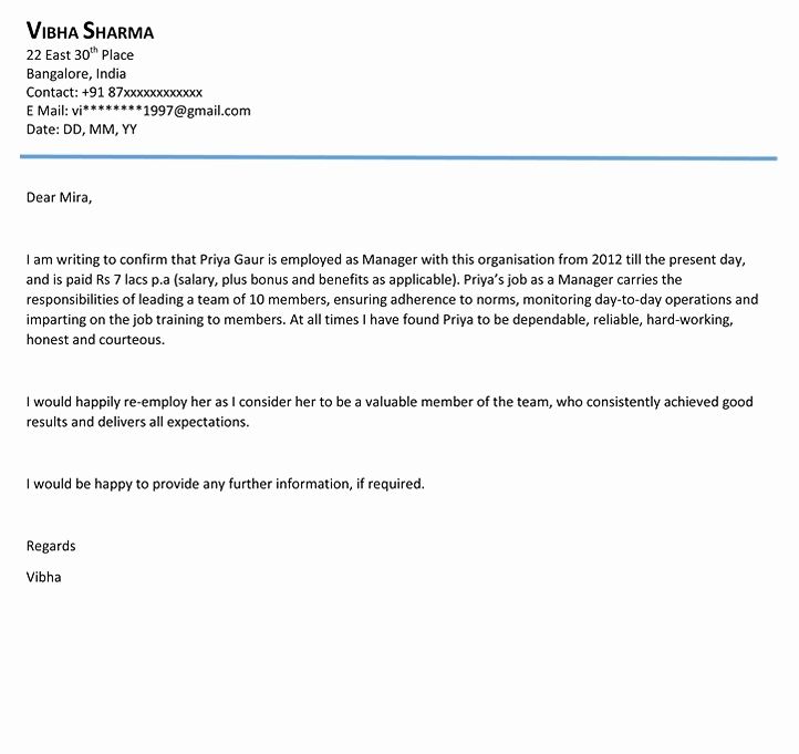 Letter Of Recommendation Outline Elegant Reference Letter Outline