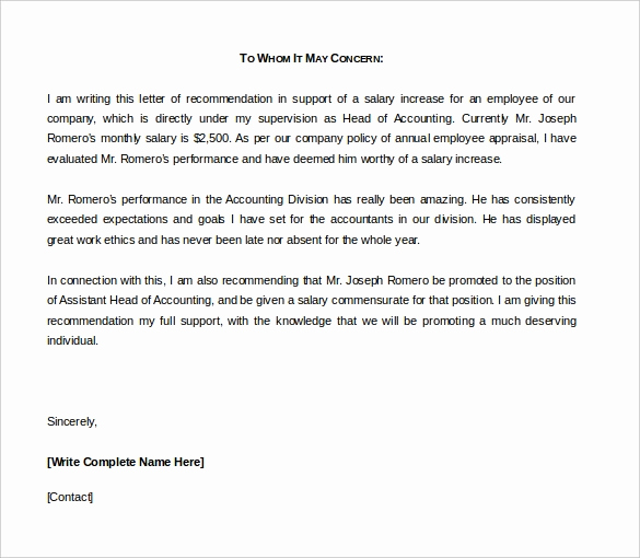 Letter Of Recommendation Templates Word Awesome 42 Reference Letter Templates Pdf Doc