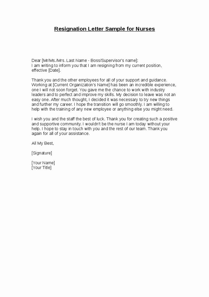 letter of resignation sample for nurses resignation letter sample for nurses
