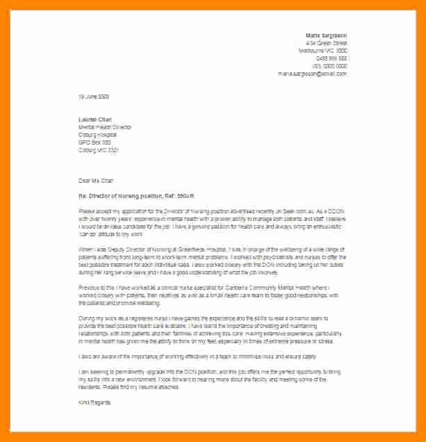 Letter Of Resignation Nursing Lovely 6 Resignation Letter Registered Nurse