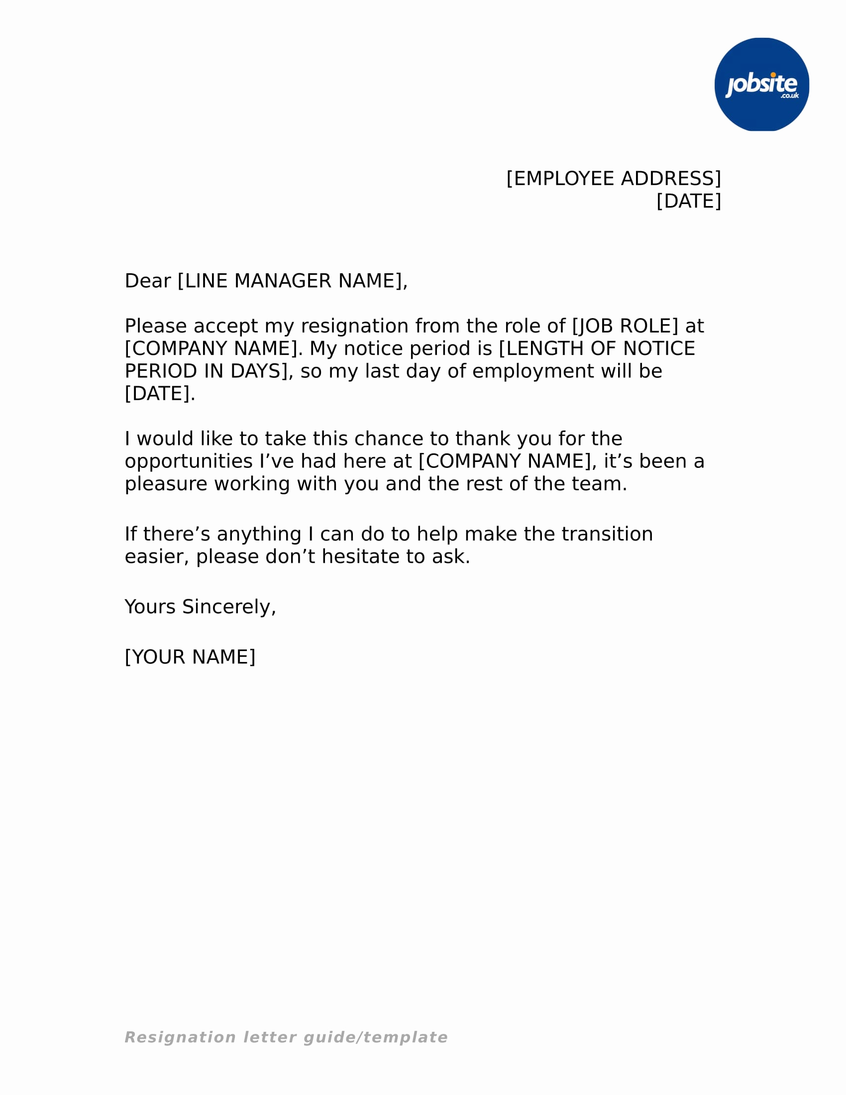 Letter Of Resignation Templates Word Unique 25 Simple Resignation Letter Examples Pdf Word