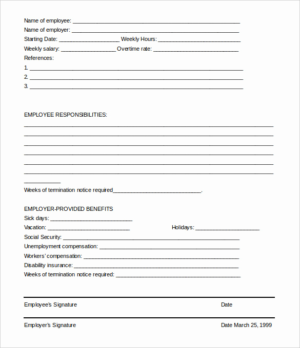 Letter Of Termination Of Employee Luxury 23 Free Termination Letter Templates Pdf Doc