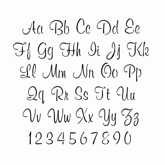 Letter Stencils to Print Elegant Printable Letter Stencils for Painting Printable 360 Degree