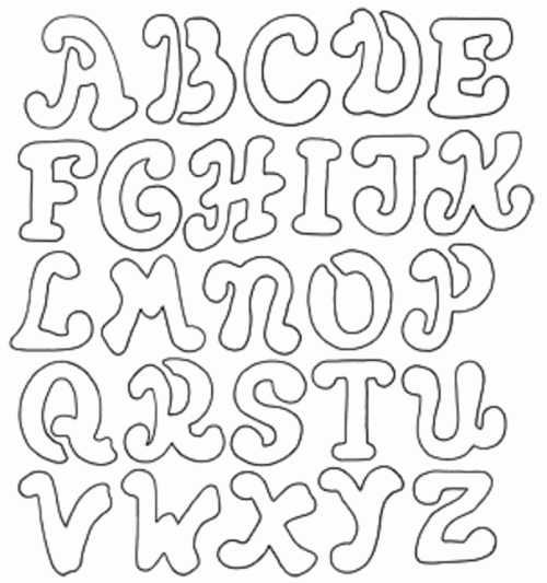 Letter Stencils to Print Fresh Printable Letter Stencils Dr Odd