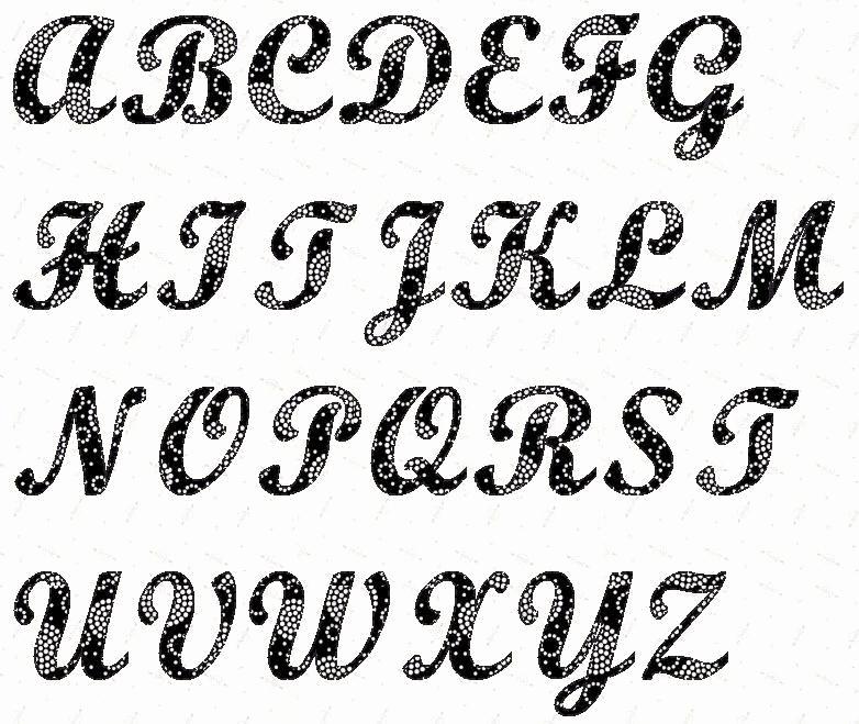 Letter Stencils to Print Luxury Alphabet Script 4 Inch Stencil