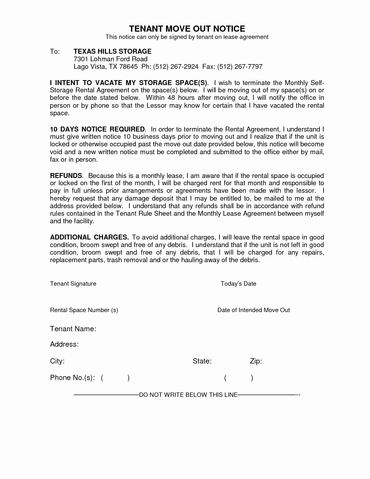 Letter to Landlord Moving Out Fresh Best S Sample Letters Notice Moving Out Move