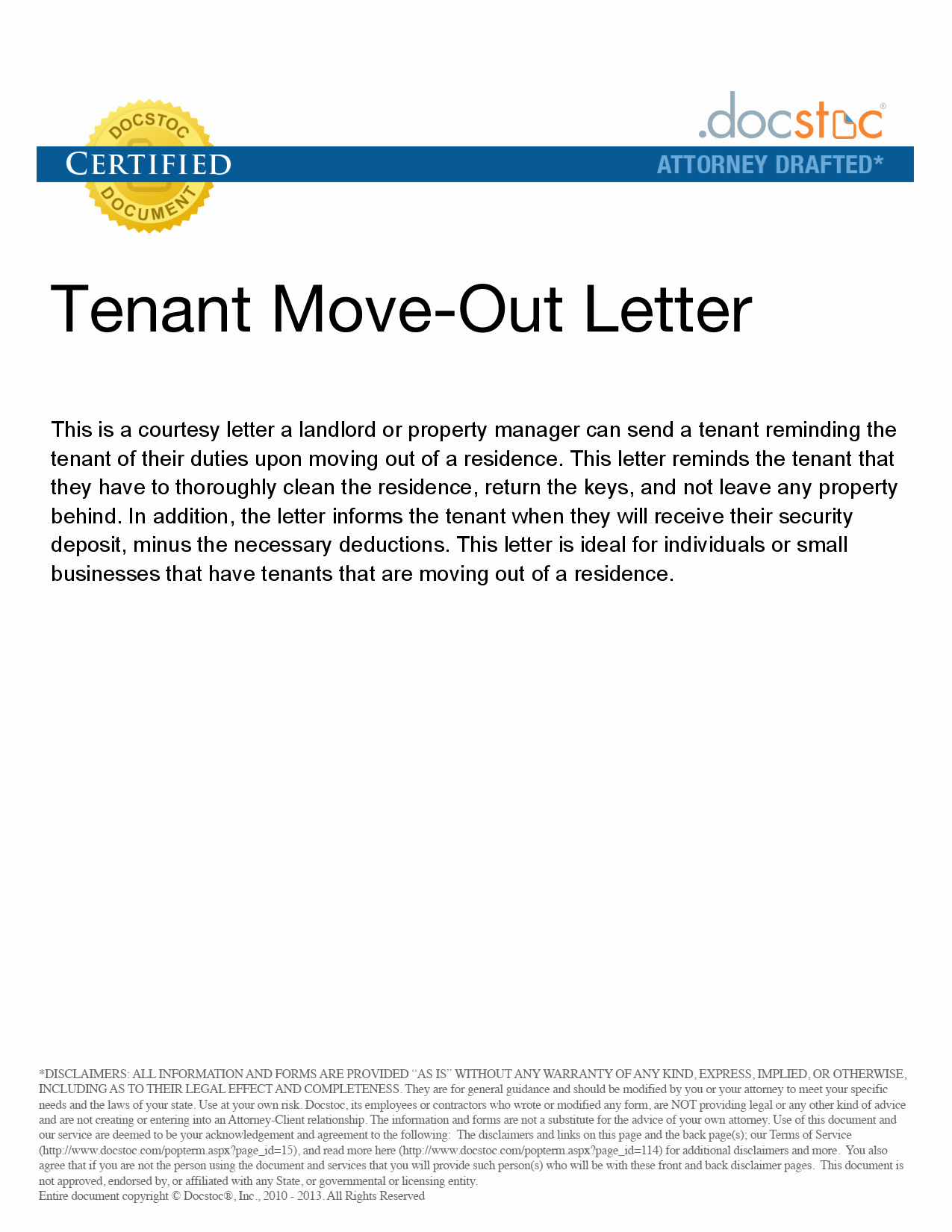 Letter to Landlord Moving Out Unique Best S Of Move Out Notice to Tenant Template 30 Day