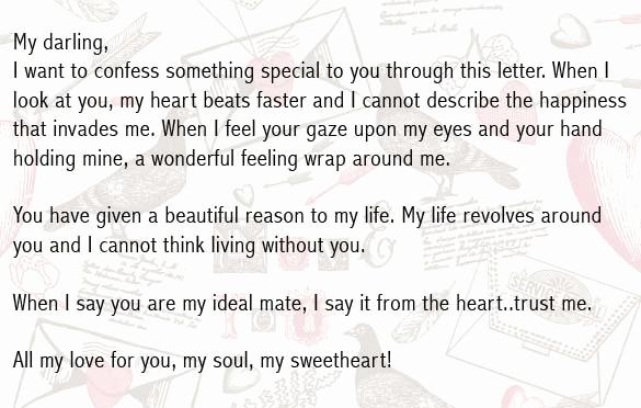 letters for boyfriend