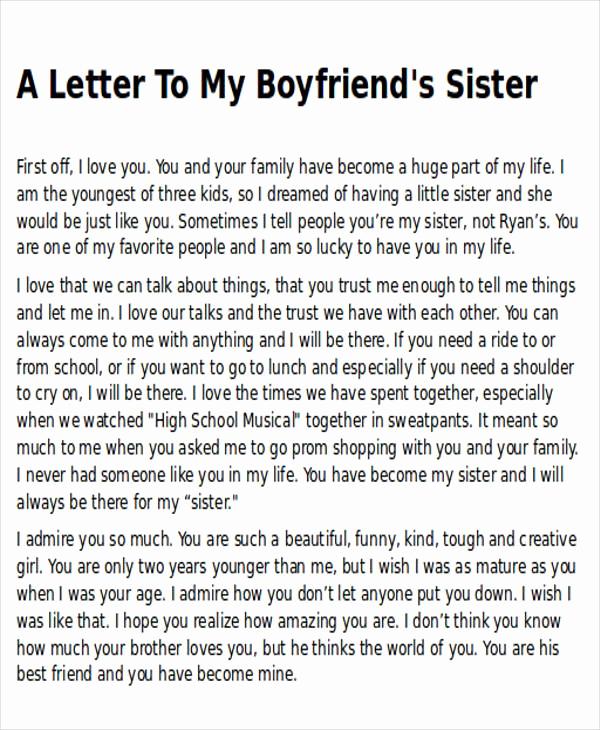 Letter to My Boyfriend Elegant Sample Thank You Letter to My Boyfriend 5 Examples In