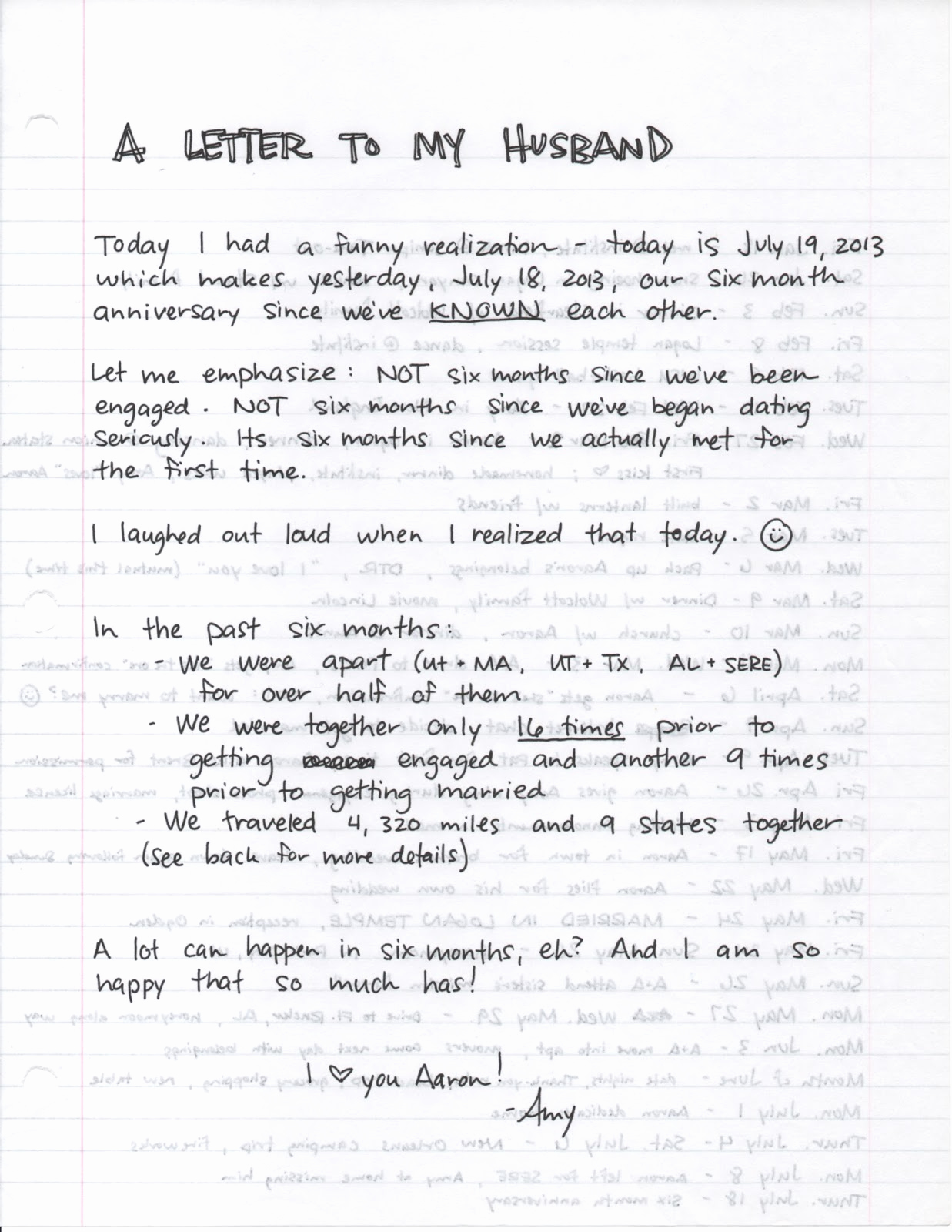 Letter to My Husband Awesome A Letter to My Husband