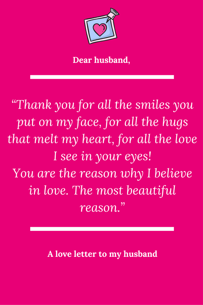 Letter to My Husband Fresh A Love Letter to My Husband