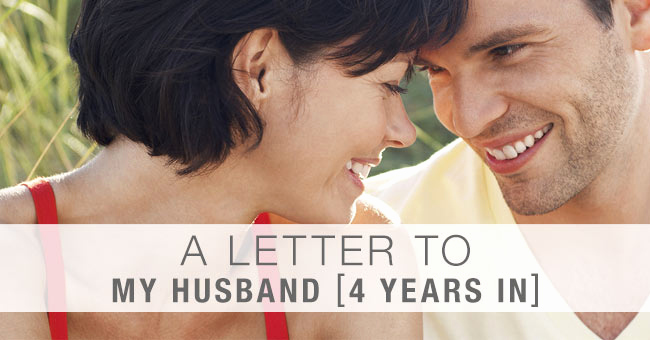 Letter to My Husband Unique A Letter to My Husband Our 4th Anniversary We Weren T