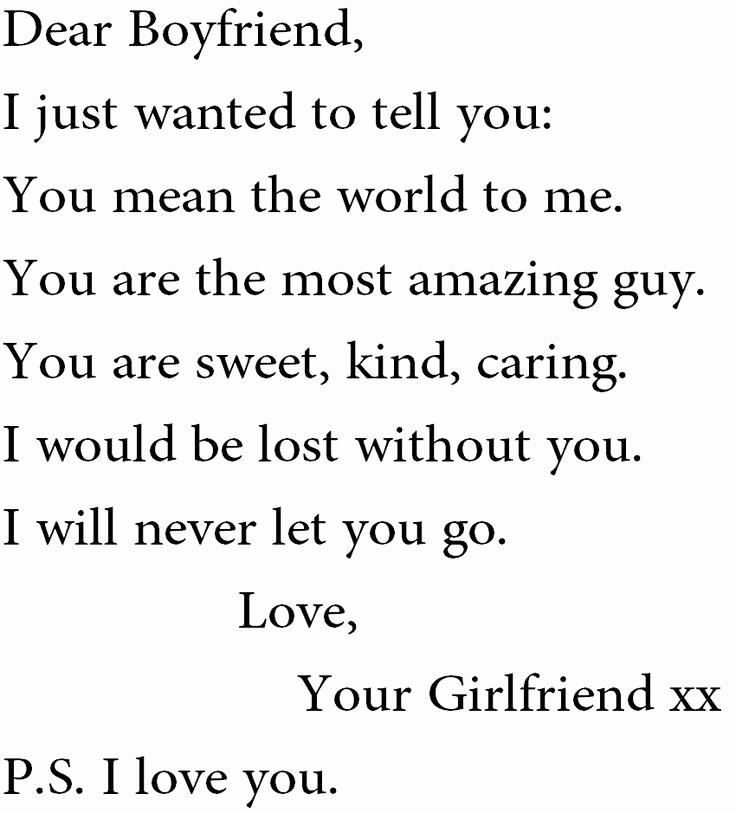 Letter to Your Girlfriend Awesome 25 Best Ideas About Letters to Your Boyfriend On