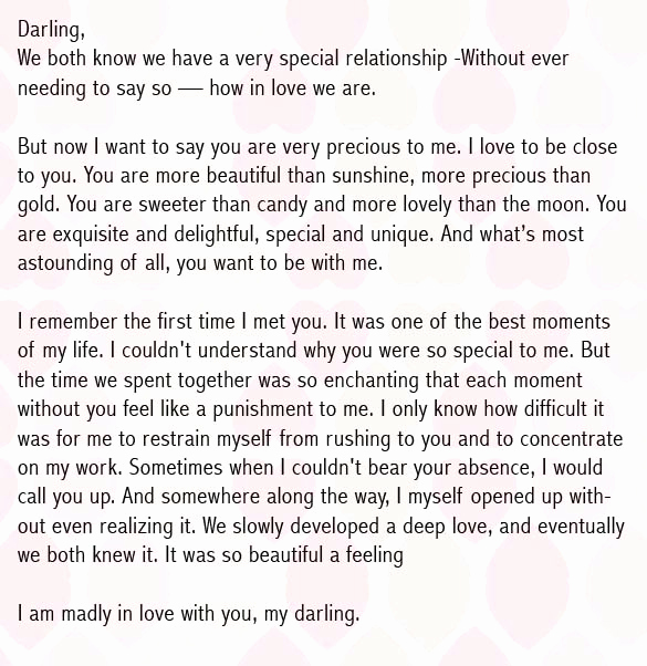 Letter to Your Girlfriend Elegant Love Letters for Girlfriend to Impress Her