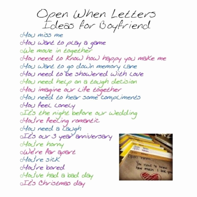 Letter to Your Girlfriend Luxury Make A Open when Letters for Your Boyfriend Girlfriend