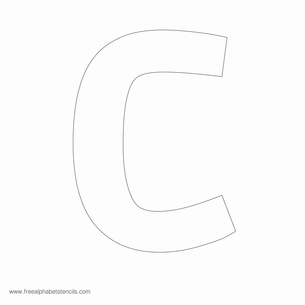 Lettering Stencils to Print Luxury Alphabet Stencils
