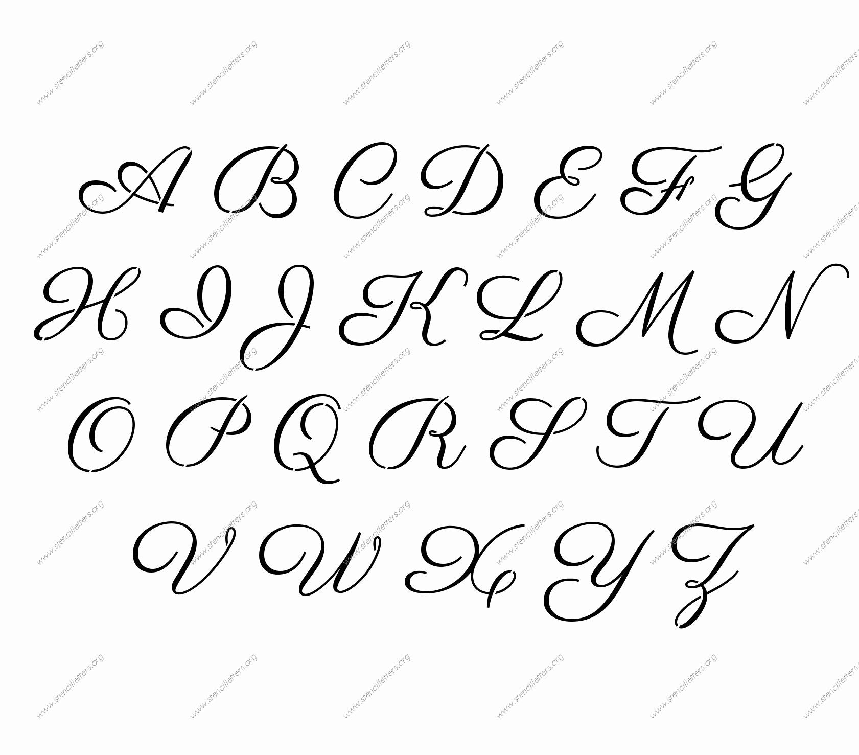 Lettering Stencils to Print Luxury Stencil Letters Free Printable Stencil Letters Fonts