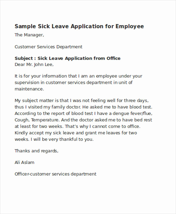 Letters Of Application Examples Lovely 52 Application Letter Examples & Samples Pdf Doc