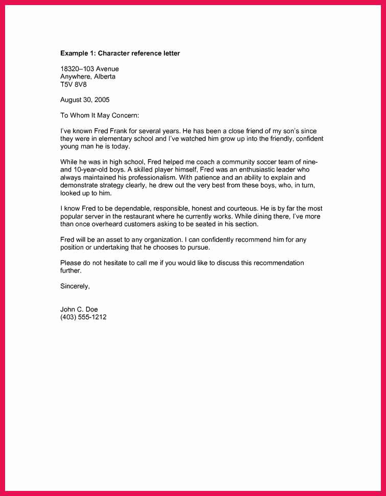 Letters Of Recommendation for Immigration Awesome Good Moral Character Letter