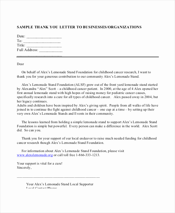 Letters Of Support Templates Awesome 58 Sample Business Letters Doc Pdf