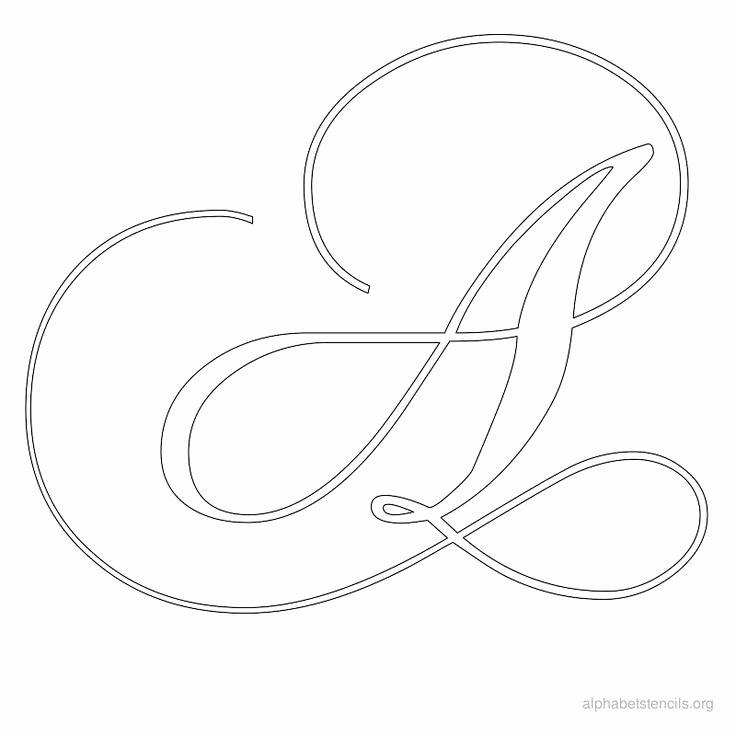 Letters Stencils to Print Inspirational 25 Best Ideas About Alphabet Stencils On Pinterest