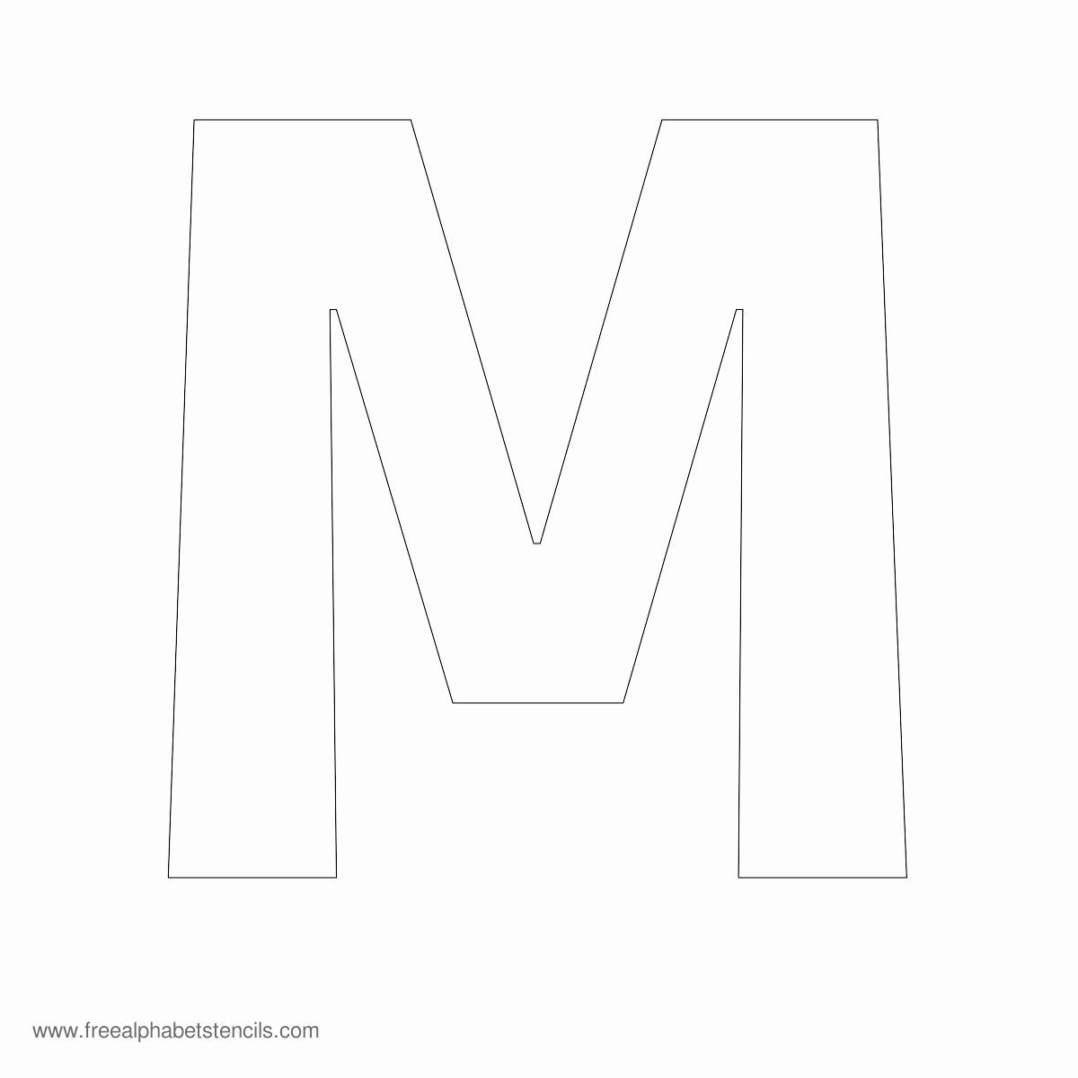 Letters Stencils to Print Luxury Alphabet Stencils