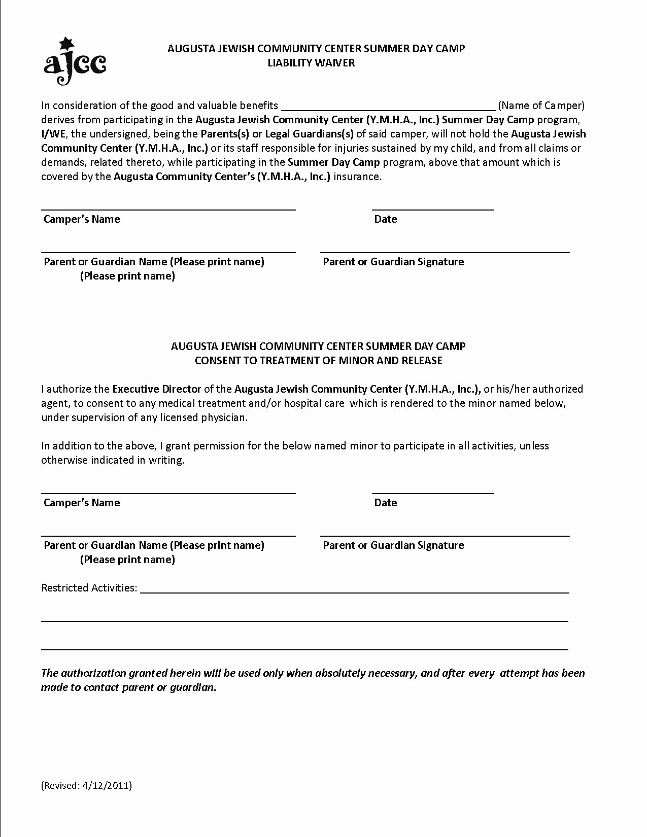 Liability Release form Template Best Of Free Printable Liability form form Generic