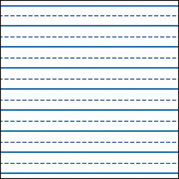 Lined Paper for Kindergarten Awesome Writing Lines for Kindergarten