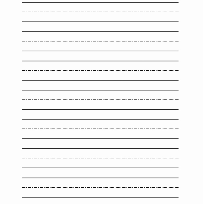 Lined Paper for Kindergarten Lovely Free Printable Kindergarten Writing Paper Worksheets