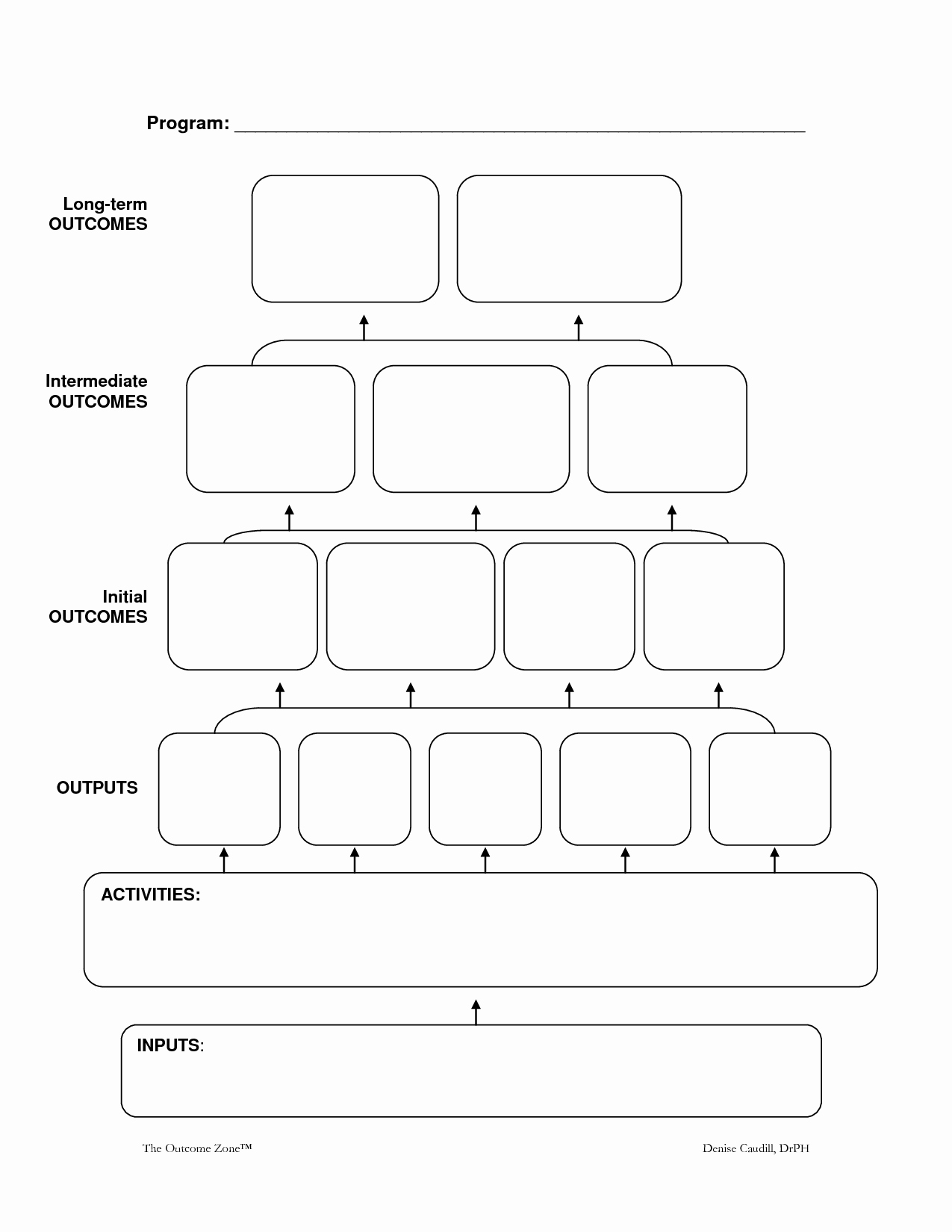26 images of logic map blank template 5304