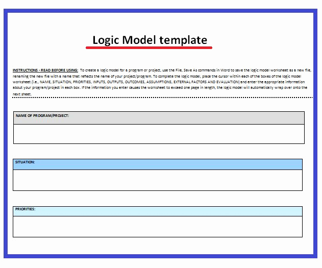 Logic Model Template Word New 12 Best Executive Summary Images On Pinterest