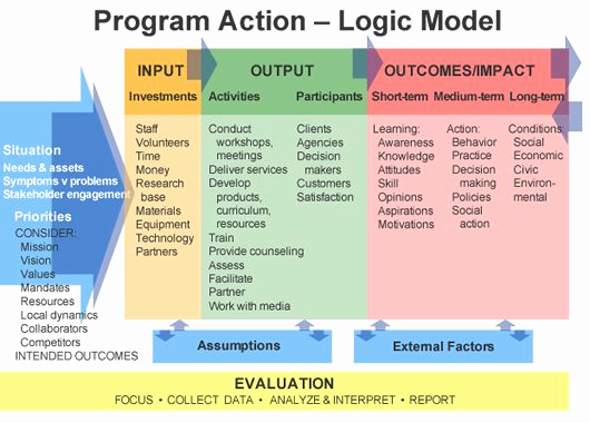 Logic Model Template Word New 292 Best Images About Work Information On Pinterest