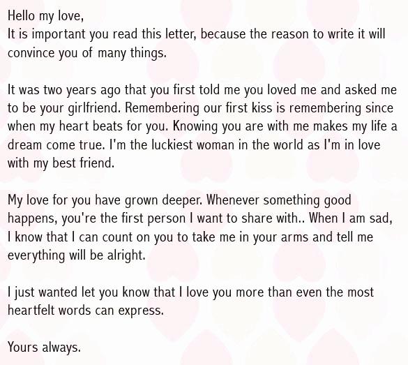 Love Letter to Boyfriend Elegant Love Letters for Boyfriend Romantic Love Letter for Him