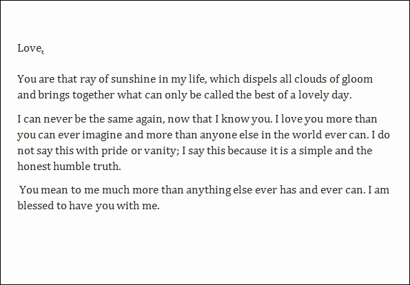 Love Letter to Boyfriend Luxury Love Letters to Boyfriend – Sampleloveletter