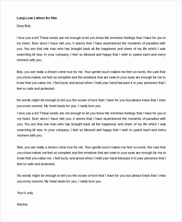 Love Letter to Boyfriend Luxury Sample Love Letter to Boyfriend 7 Examples In Word