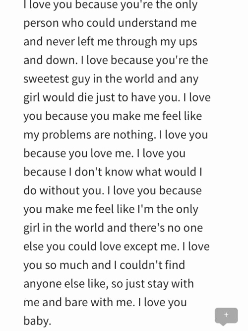 Love Letter to Boyfriend New Love Letter to Boyfriend