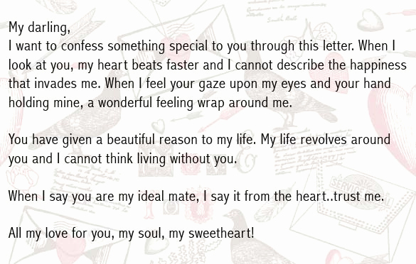 Love Letter to Girlfriend Beautiful Love Letters for Boyfriend Romantic Love Letter for Him