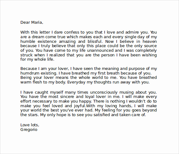 Love Letter to My Gf Inspirational Love Letters for Her Sample Love Letters for Her