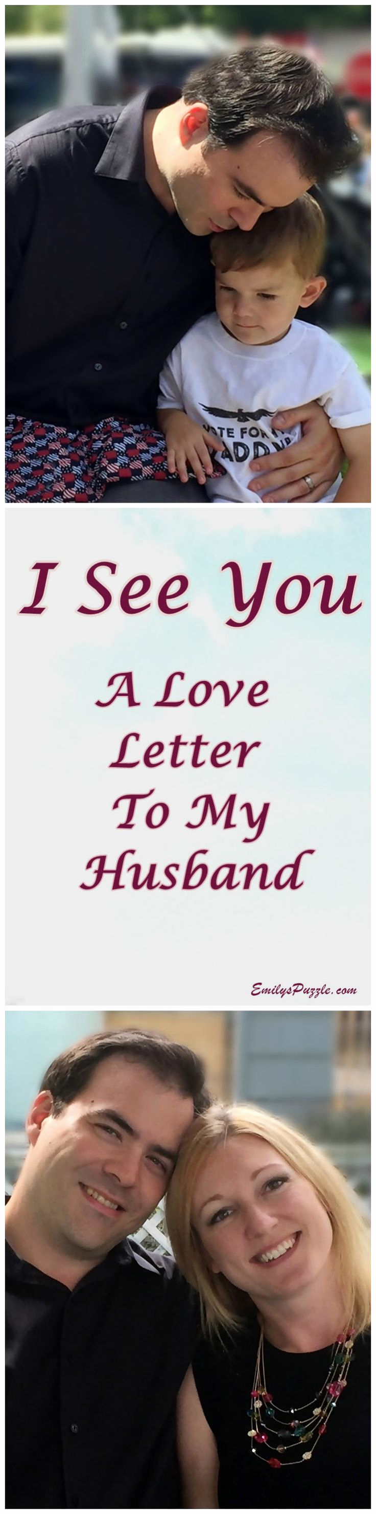 Love Letter to My Husband Awesome I See You A Love Letter to My Husband