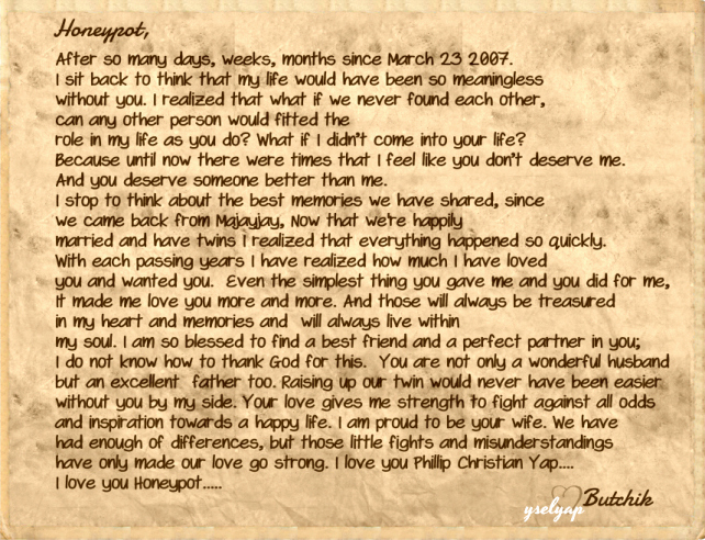 Love Letter to My Husband Awesome Letter for My Husband