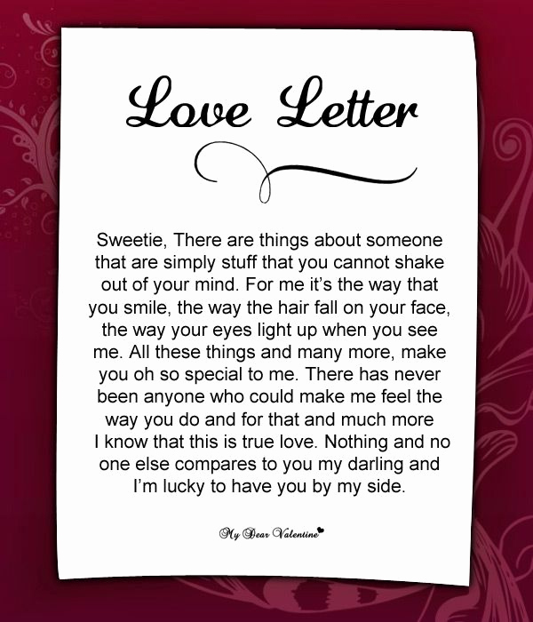 Love Letter to My Husband Lovely Love Letter for Her 48 Love Letters for Her