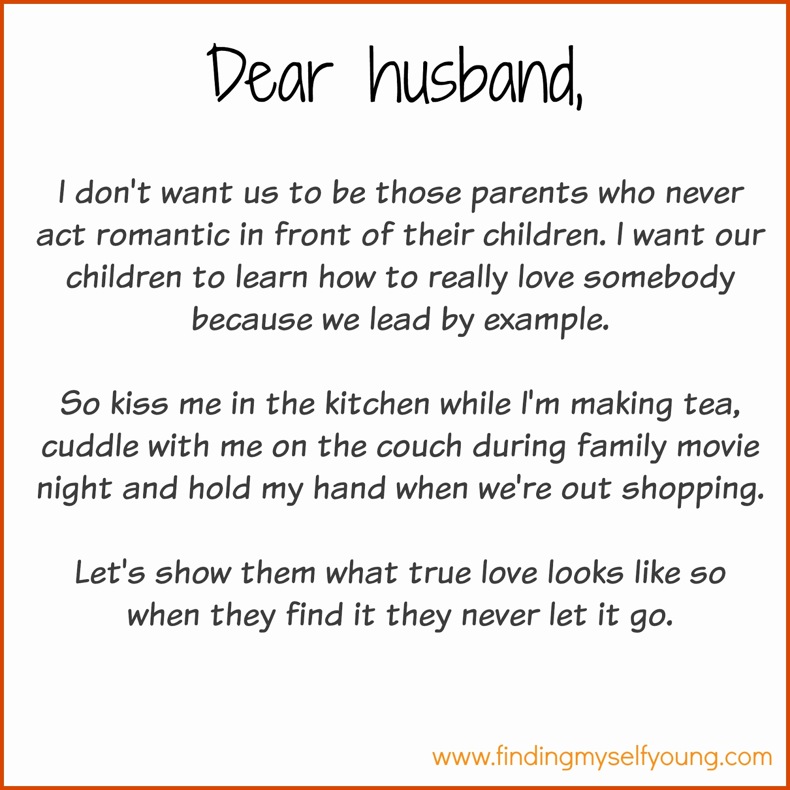 Love Letter to My Husband Luxury Finding Myself Young December 2015