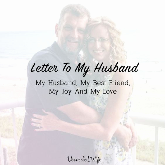 Love Letter to My Husband Luxury Letter to My Husband My Husband My Best Friend My Joy