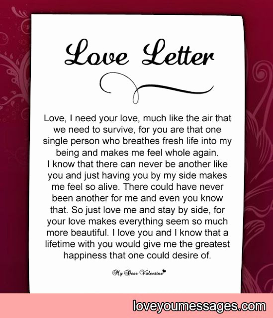 Love Letter to My Wife Awesome Deep Love Letters for Her Deep Love Letter Letters