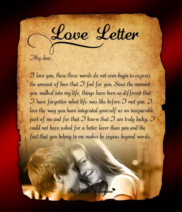 Love Letter to My Wife Elegant Send This Love Letter to Him to Immerse Yourself In that