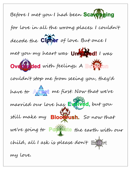 Love Letter to Wife Lovely Magic Memes